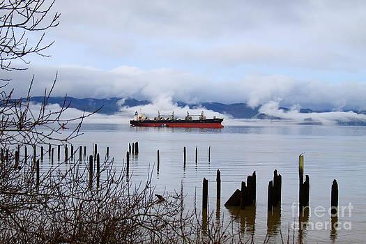 January Ship by Dawn Kori Snyder