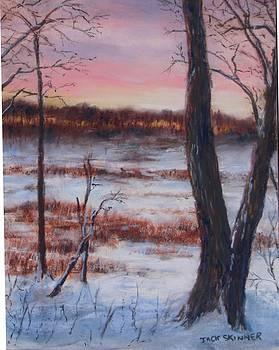 January Sunrise by Jack Skinner