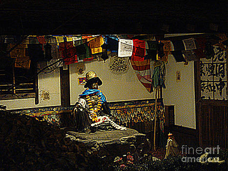 Feile Case - Japanese Buddhist Shrine with Bodhisattva 02