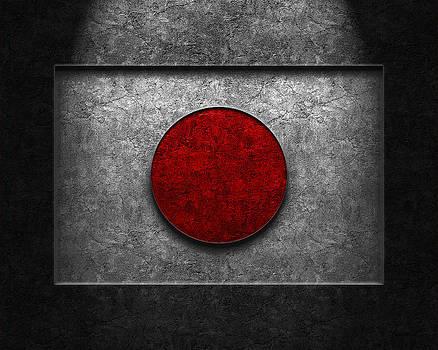 Brian Carson - Japanese Flag Stone Texture