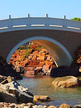 Japanese Garden Bridge by Jim Moore
