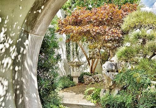 Japanese Garden by Jean Goodwin Brooks
