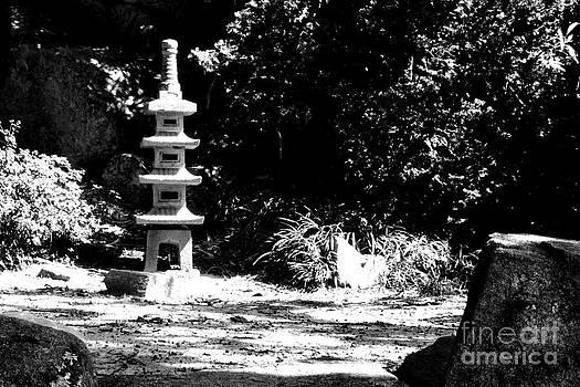 Japanese Garden Pagoda at Maymont Park by Floyd Menezes