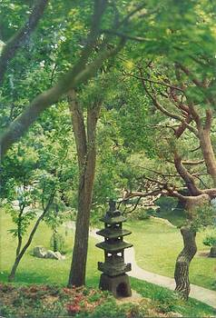 Japanese Garden by Robert Bray