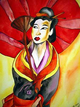 Japanese Geisha by Sacha Grossel