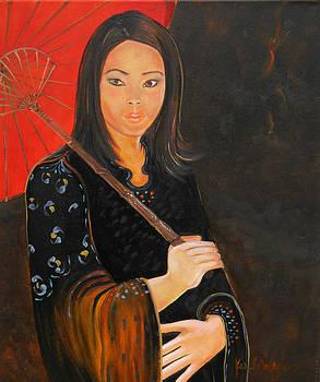 Japanese Girl by Ken Caffey