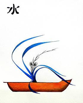 Japanese Ikebana Feung Shui  by Gordon Lavender