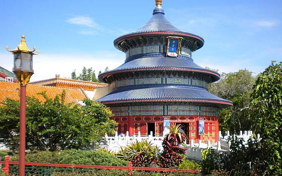 Japanese Museum at Disney World by Bernadette Amedee