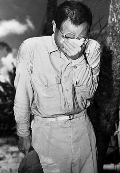Japanese Pow On Guam After Hearing by Everett