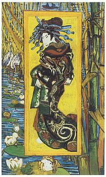 Vincent Van Gogh - Japonaiserie Oiran