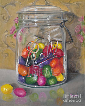 Marnie Bourque - Jar of jellybeans