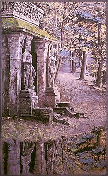 Jardin Del Templo by Victor  Candela