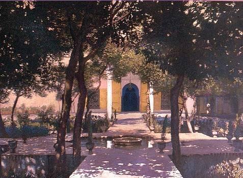 Jardin Majorelle by Victor  Candela