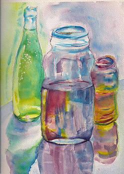 Shan Ungar - Jars and Wine Bottle