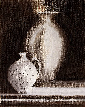 Jars in Pastel by Linde Townsend