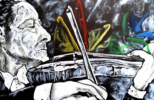 Jascha Heifetz by Jacob Wayne Bryner