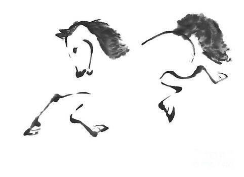 Ellen Miffitt - Jaunt by a Horse