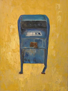 Jaunty Mailbox by Lindsay Frost