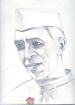 Jawaharlal Nehru by Tanmay Singh