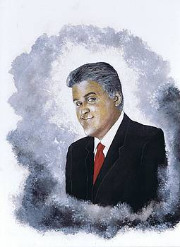 Jay Leno by Jerry Bates