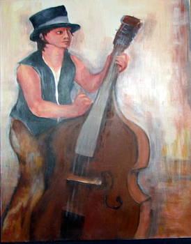Jazz 1 by Marcelle Larochelle