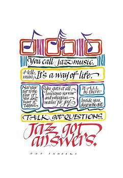 Jazz Got Answers by Sally Penley