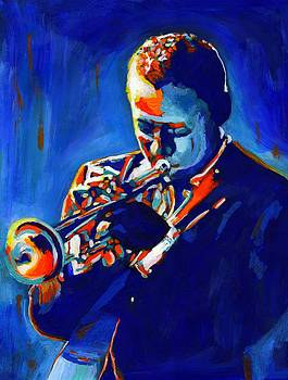 Jazz Man Miles Davis by Vel Verrept