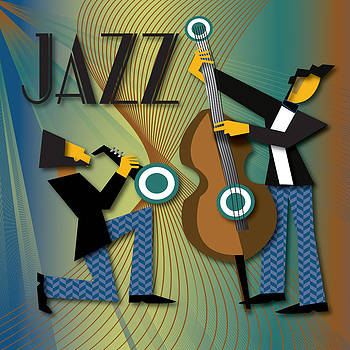 jazz music  Teal by Lee Ann Asch