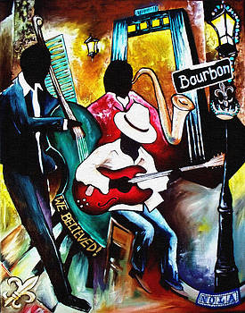Jazz on Bourbon by Alonzo Butler