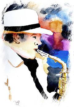 Jazz Player by Steven Ponsford