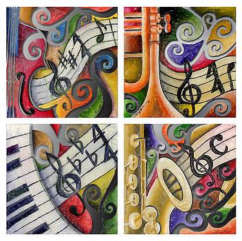 Jazz remix 4 by Stacy V McClain
