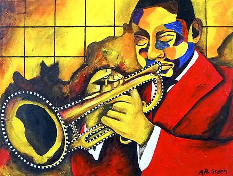 Jazz Rhythms I by Angela Green