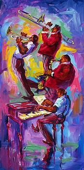 Jazz Rising New Orleans by Saundra Bolen Samuel