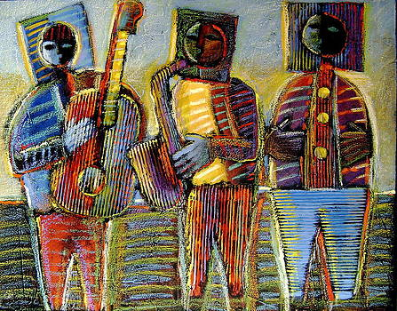 Jazz Trio by Gerry High