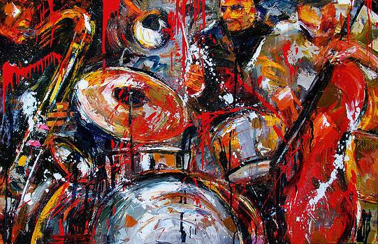 Jazzy Jazz by Debra Hurd