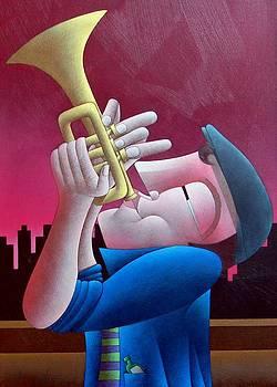 Jazzy Skyline by Lima Jr