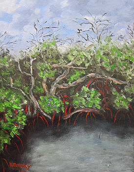 JD MacArthur Mangroves by Kathryn Barry