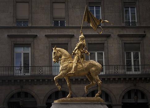 Jean d'Arc in Paris by Craig Sanders