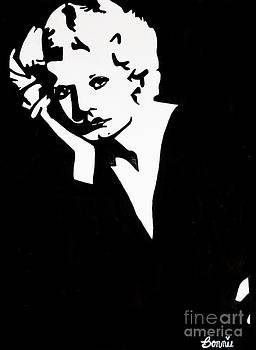 Jean Harlow #2 by Bonnie Cushman