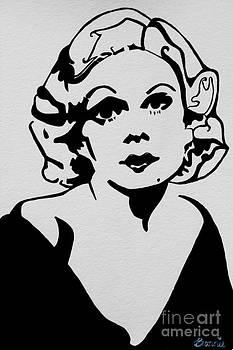 Jean Harlow by Bonnie Cushman
