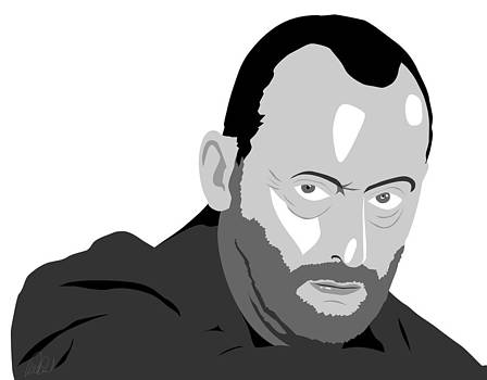 Jean Reno by Paul Dunkel
