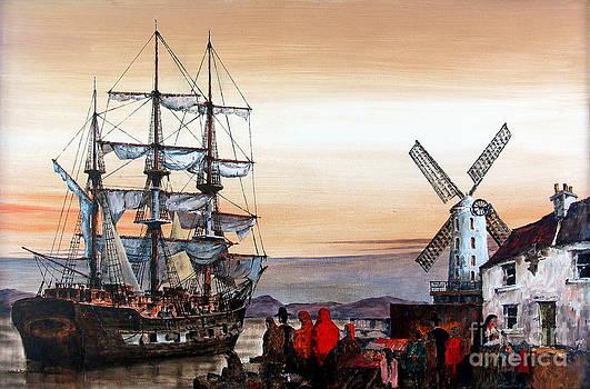 Val Byrne - Jeanie Johnston Famine Ship