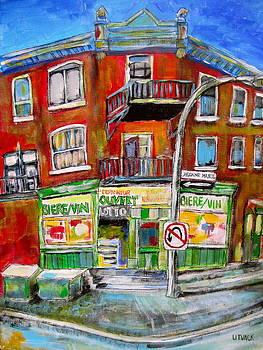 Jeanne Mance Corners by Michael Litvack