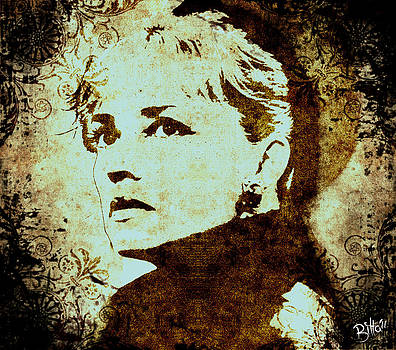 Jeanne Moreau by Bitta -  Silvia Mariottini