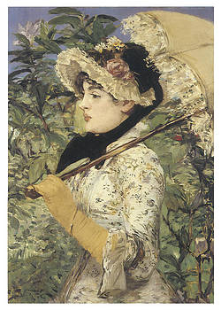 Edouard Manet - Jeanne Spring
