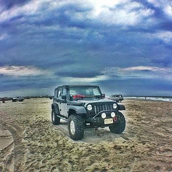 #jeep #jeepjk #nj #newjersey #beach by Matthew Loving