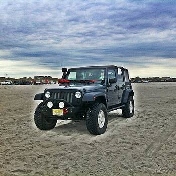 #jeeps #jeepsonthebeach #brigantine by Matthew Loving