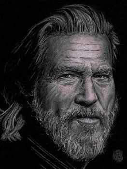 Jeff Bridges by Ryan Jacobson