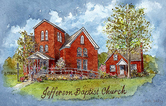 Jefferson Baptist Church by Leslie Fehling