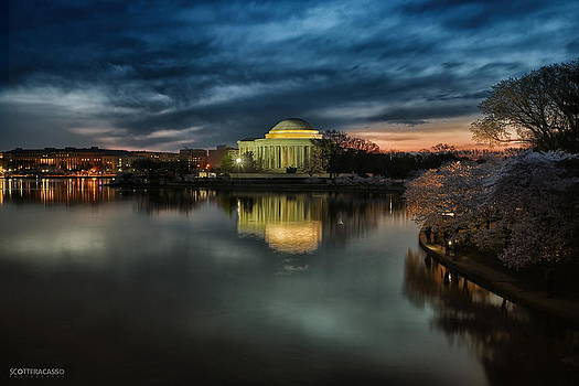 Jefferson Memorial at Dawn II by Scott Fracasso